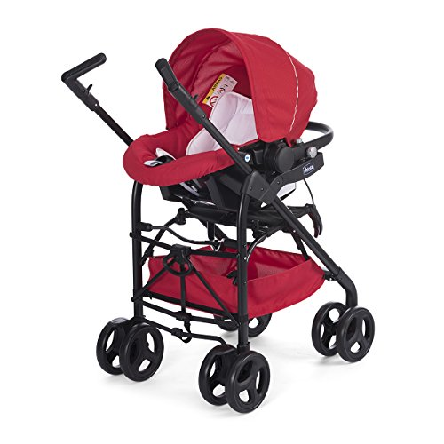 Chicco Trio Sprint Black Poussette Red Passion image2