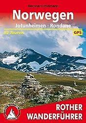 Norwegen: Jotunheimen - Rondane. 52 Touren. Mit GPS-Tracks. (Rother Wanderführer)