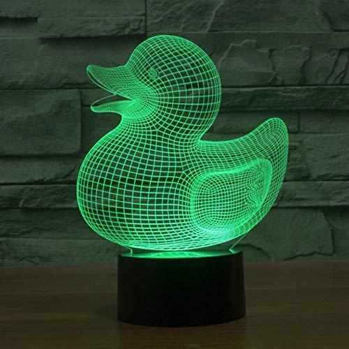 Hopeyard Tischlampe Des Bunten Steigungslicht-Notenschalters Der Ente -