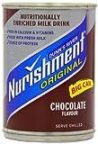 Nurishment cioccolato Sapore bere latte 400 g (confezione da 12)