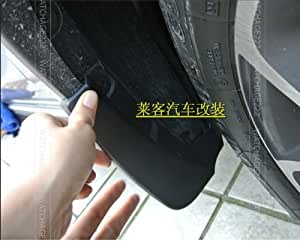 Bavettes garde-boue éclaboussures en forme de garde 4PCS pour 2013 2014 NEW SUBARU CROSSTREK XV