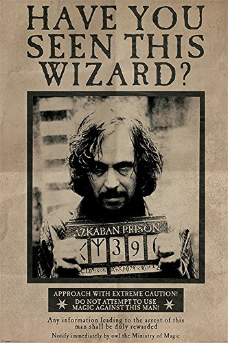 empireposter 743534 Harry Potter - Wanted Sirius Black -