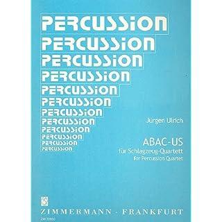 Abac Us. Schlagzeug, Quartett
