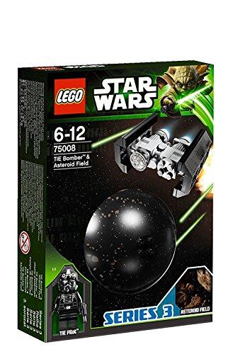 LEGO Star Wars 75008 - TIE Bomber und Asteroid - Tie Star Wars Bomber Lego