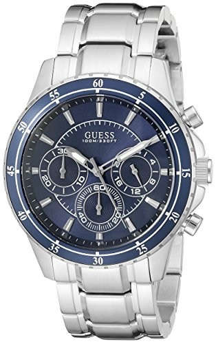 cf60710df Guess u0676g2 Mens U0676g2 Stainless Steel Chronograph Watch- Price in India