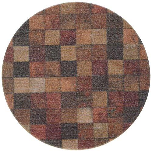Thirstystone 'Moderne Mosaik' Sandstone Drink Coaster Set mit Nussbaum-inklusive Halter (Moderne Mosaik)