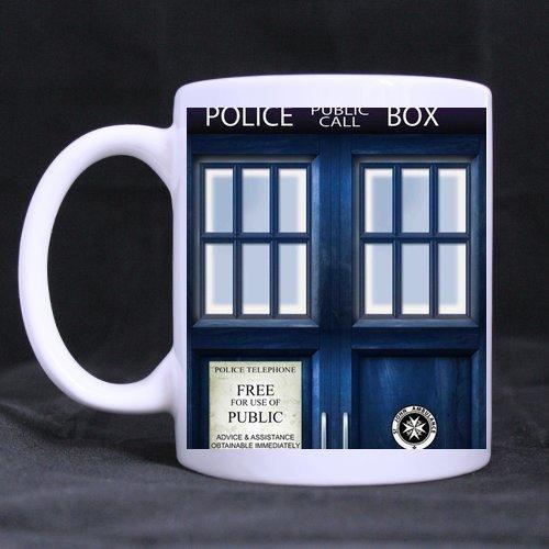 CozyHome tardis door Custom tea coffee cup White Mug(Tazzine da caffè)