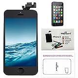 Para iPhone 5 Pantalla Negro COMPLETA Premium Kit de reparación LCD - Trop Saint® + Fim Protector