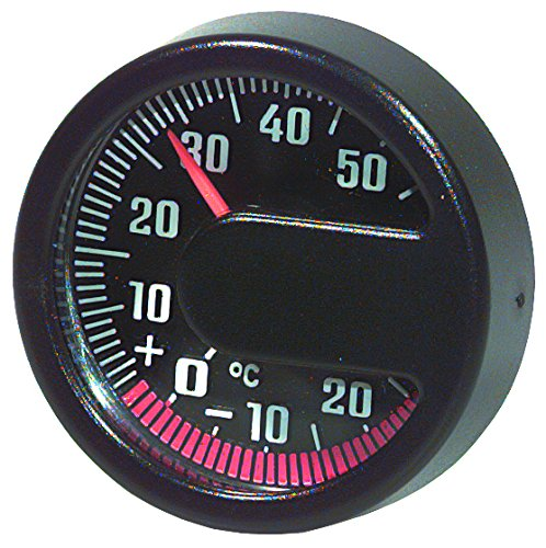 HR-imotion 10010201 Termómetro para vehículo, el hogar, el Camping, etc, Adecuado para...