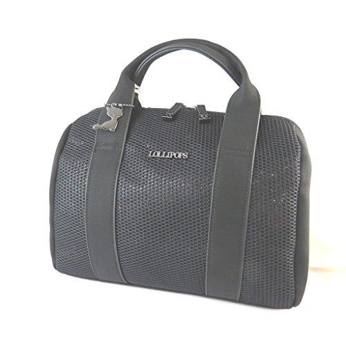 Bag designer 'Lollipops'nero - 31x19x16 cm.