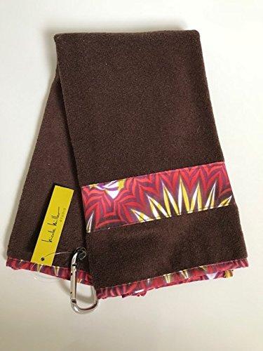 Nicole Miller Brand New Ladies Tri Fold Golf Towel. Fire Island Womens Nicole Miller