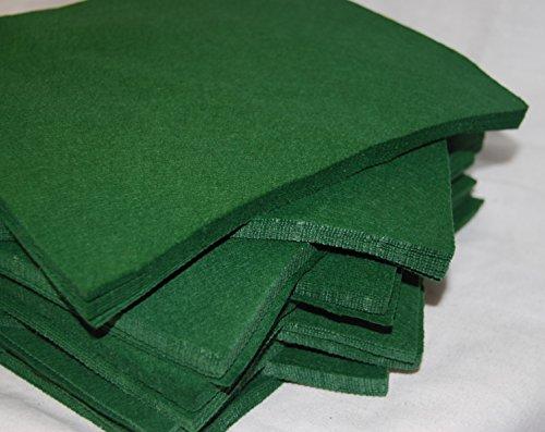 Lot de 2 feuilles - 100% feutre Acrylique 15,2 cm carrés pour travaux manuels, et Doudou - Ce qui la rend