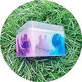 Dapei Sogni mix di colori Crystal Schleim bambini divertimento Crazy Floam fango deodorante Charme lentamente aumento simulazione labbro giocattolo lucido regalo 150 ML, c