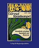 Image de Gertrud Kleinhempel 1875-1948: Künstlerin zwischen Jugendstil und Moderne (Schriften der