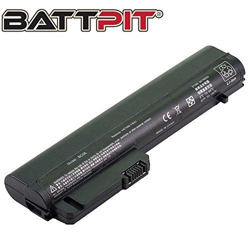 Battpit Laptop Akku für HP Compaq 451714-001 HSTNN-FB22 EliteBook 2510p 2530p 2540p NC2400 Compaq 2510p 2540p - [6 Zellen/4400mAh/48Wh]