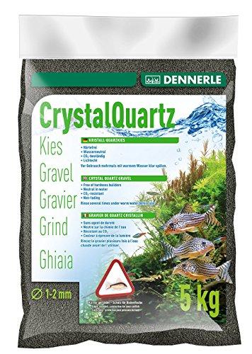 Dennerle 1755 Kristall-Quarzkies, diamantschwarz, 5 kg