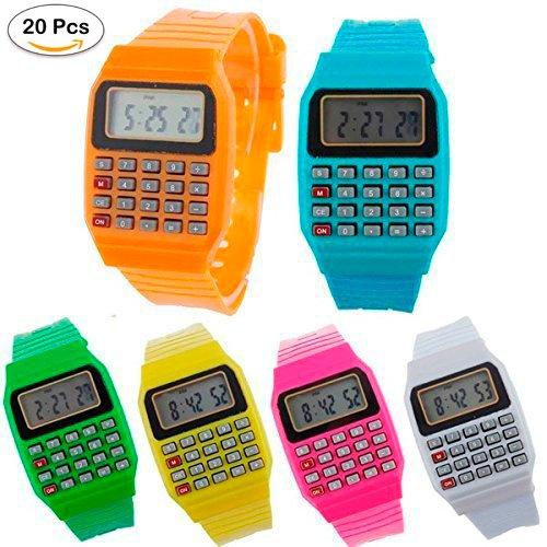 Lote de 20 Relojes Calculadora, Reloj Calculadora