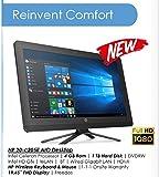 #7: HP AIO 20-c205il Full HD Desktop 19.5 Inch Monitor (Intel Celeron J3060, 4GB RAM, 1 TB HDD, DVD Writer, Bluetooth, Wifi, Free DOS, Intel HD Graphics) Jack Black
