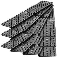 GreatIdeas & # 0153; tappetino antiscivolo e tappeto antiscivolo–Stop Your Tappeti e tappeti Scivoli e scorrevole., Plastica, 12x