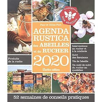 Agenda Rustica des abeilles et du rucher