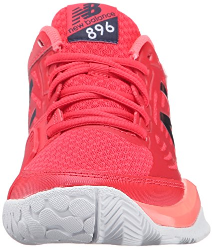 New Balance Women's 896v1 Tennis Shoe Bright Cherry/Guava