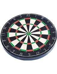 FA Sports Dartscheibe Spick Real-M - Juego de dardos ( acero ), color negro, talla 45.5x45.5x3.8 cm