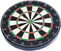 FA Sports Dartscheibe Spick Real-M, schwarz, mehrfarbig, 46x46x4, 902