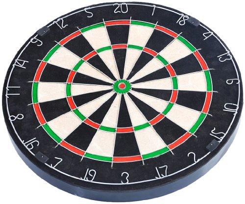 *FA Sports Dartscheibe Spick Real-M, schwarz, mehrfarbig, 46x46x4, 902*