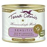 Terra Canis Sensitive Wild | 12x 200g getreidefreies Hundefutter