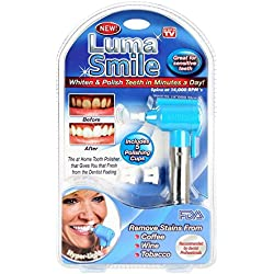 Abtrix Tooth Polisher Whitener Stain Remover with LED Light Luma Smile Rubber Cups