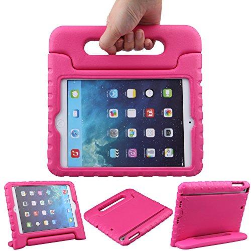 TRELC iPad Mini Hülle Superleicht EVA Stoßfest Kinderfreundlich Kinder Schutzhülle mit umwandelbarer Handgriff Handle und Standfunktion für Apple iPad Mini 3rd Gen / Mini 2/ Mini 1 - Ipad 3rd Gen Apple