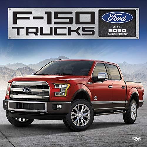 Ford F150 Trucks 2020 Calendar par Browntrout Publishing