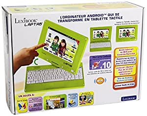 lexibook mfc140fr l 39 ordinateur tablette tactile pour. Black Bedroom Furniture Sets. Home Design Ideas