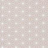 HIGGS & Sashiko - Pastell beige - 100% Baumwolle Stoff