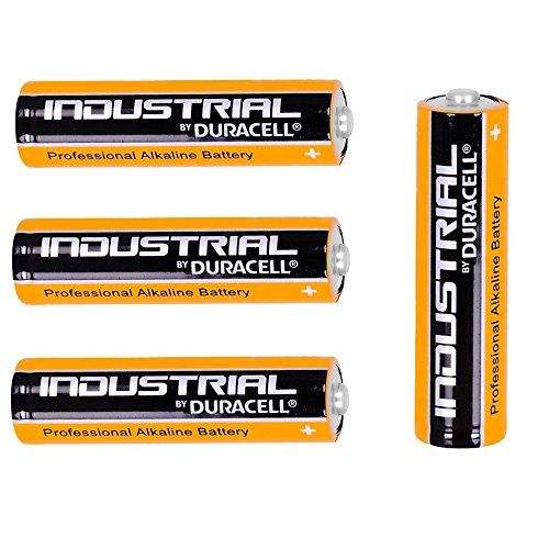 4 x New Genuine Batterie AA Piles alcalines AA 1,5 V LR6 MN1500 remplace industriel Duracell Procell Lot de 4