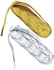 Bauer Schnürsenkel weiß - gewachst