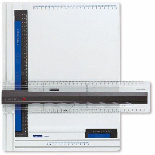 Staedtler Mars 661 A4. Tablero de dibujo blanco de plástico de alta calidad.