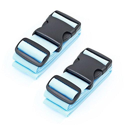 1Smile Koffergurt Gepäckgurt Kofferband der Koffer Canvas Koffer Gürtel (Stoff Poly-faser)