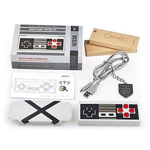 QUMOX NES30 manette de jeu Bluetooth sans fil pour iOS, Android, Windows, PC, Mac, Nintendo switch