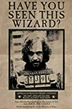 Harry Potter maxi poster Wanted Sirius Black, multicolore.
