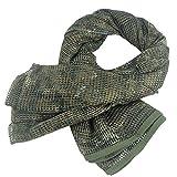 KSS Netzschal in verschiedenen coolen Designs und Farben - Tarnschal Unisex Schal für Freizeit - Größe 190 cm x 90 cm (CP)