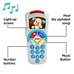 Fisher-Price 887961256321 Laugh and Learn Puppy's Remote, Electronic Educational Toddler Toy with Music, Lights, Colours and Phrases, Suitable for 6 Months Plus 5