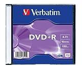 Verbatim DVD+R Matt Silver - DVD+RW