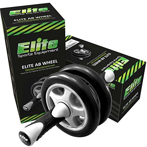 Elite Sportz Ab Roller - Bauchtrainer das duale Raddesign bedeutet, dass KEIN WACKELN auftritt Abbildung 2
