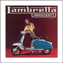 Set: Scooter, Lambretta 150 Li Lifestyle Stampa D'Arte (40x40 cm) E 1x Poster Da Collezione 1art1®