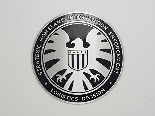 Car Styling 3D Marvel Agents of Shield Sticker Emblem Badge...
