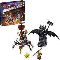 LEGO La LEGO Película 2 - Batman y Barbagris Preparados para Luchar, juguete de construcción y aventuras (70836)