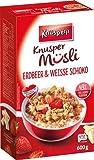 5x Knusperli - Knusper Müsli Erdbeer & Weisse Schoko - 600g