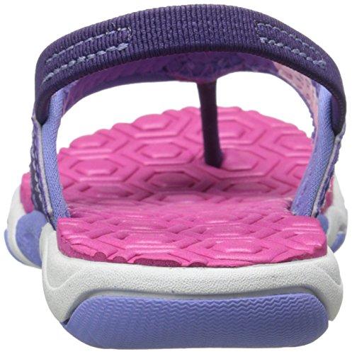 Timberland Adventure Seeker Thong Sandal (Toddler/Little Kid) Purple/Pink