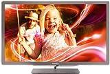 Philips 47PFL7606K/02 119 cm (47 Zoll) Ambilight 3D LED-Backlight-Fernseher (Full-HD, 400 Hz PMR, DVB-T/C/S, Smart TV) silbergrau